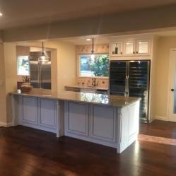 Flooring/Counter addition/Wine Cellar.