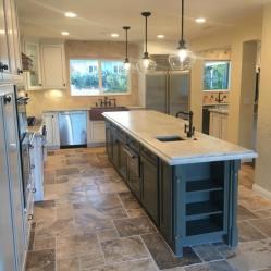 Brand New Kitchen/ Island W/Sink Addition